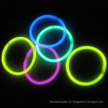 pulseira de brilho tubo iluminado