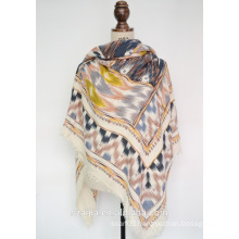 Fashion winter warm ladoes acrylic pashmina scarf/poncho