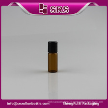 High quality small glass medicine bottles 3ml roll-on bottle wholesale