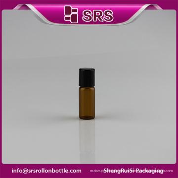 Alta calidad botellas de medicina de vidrio pequeño 3ml roll-on botella al por mayor