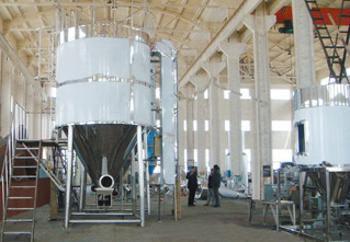 High Speed ​​Centrifugal Emulsifying Agents Spray Dryer