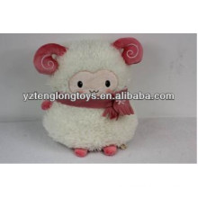 cute lamb cushion plush sheep hand warmer