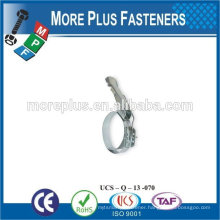 Made in Taiwan Stainless Steel strong types of hose clamps small hose clamps quick release hose clamps