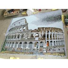 Azulejo Mosaico Mural, Mosaico de Imagem para Decoração de Parede (HMP810)