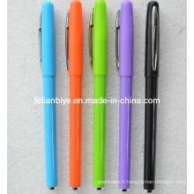 Stylo gel plastique coloré pour la promotion (LT-Y055)