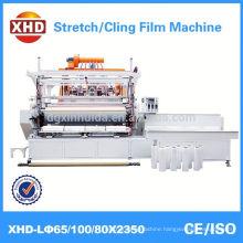 automatic plastic film winder