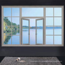 Klassik der Aluminium-Fenster, European Style Swing Window Serie, Big Window Design