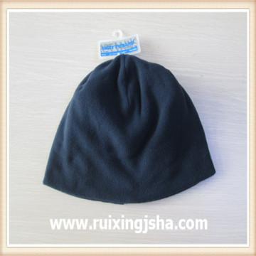 boy's black fleece hat beanie