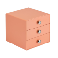 3 Drawer Cosmetics Makeup Office Storage Organizer
