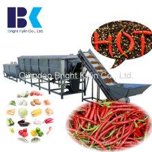 Machine de criblage de légumes au poivre