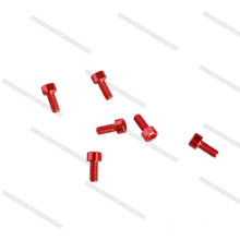 Alu 6061 7075 ,Stainless Steel SS304,Titanium , Nylon Plastic Bolts