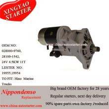 Hino Engine W04CT, W04D, W06D, W06e Denso Starter