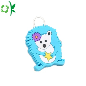 Ny design Custom Logo Silicone dragkedja Pull Wholesale