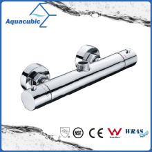 Bathroom Shower Brass Chromed Anti-Scald Thermostatic Tap (AF4122-7)