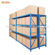 estante metálico de almacenamiento en almacén 200 wx 60 dx 200 h