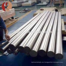 Mecánicamente presenta ti6al4v eli aleación de titanio bar iso 5832-3