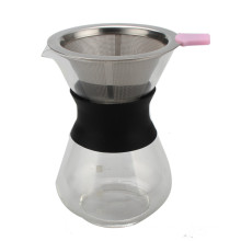 Gießen Sie über manuelle Handtropfkaffeemaschine
