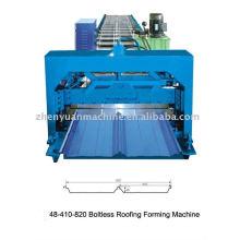 Máquina de formação de rolo de bandeja de cabos, máquina de telhado articulada