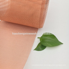 80 120 Mesh China beste Qualität niedrigen Preis Messing / rot Kupfer Drahtgeflecht
