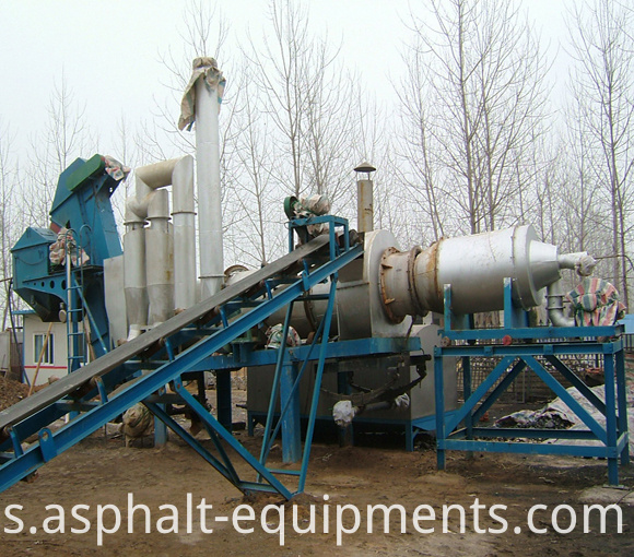 drum asphalt mixers