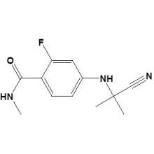 4- [(2-Cianopropan-2-il) amino] -2-fluoro-N-metilbenzamida No. CAS 915087-32-0