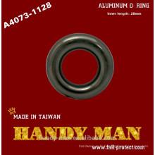 A4073-1128 Guide de la corde Aluminium Petit anneau