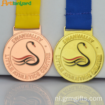 Custom Metal Medallions With Soft Enamel