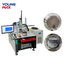 Máquina de corte por láser rápido de metal de acero de hierro