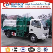 DFAC 5CBM nueva condición de rollo en roll off camión de basura