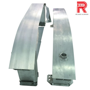Perfis de extrusão de alumínio / alumínio para Anticolision-Beam
