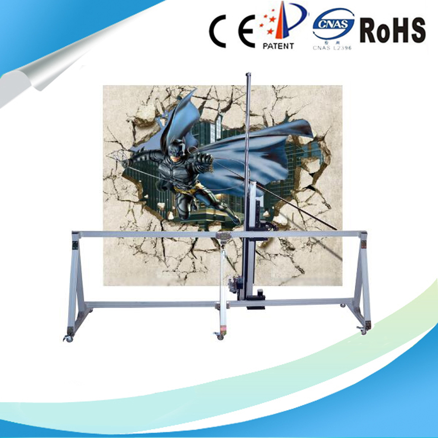 3D Automatic Vertical Direct Wall Painting Machine