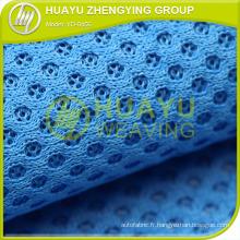 Tissu en maille d'air, tissu en maille en polyester polyester 0456 pour chaussures