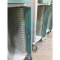 AG-CHT012 CE ISO powder coating steel frame hospital paper holder medical trolley
