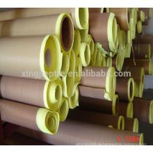 Hochtemperatur-Ptfe-Glasgewebe-Teflon-Klebeband mit Trennpapier