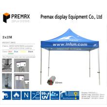 Commercial Grade Aluminium Faltdach / Shelter / Zelt mit Custom Printing