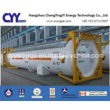 Nouveau conteneur de réservoir de GNL haute pression Lox Lin Lar Lco2 de haute qualité