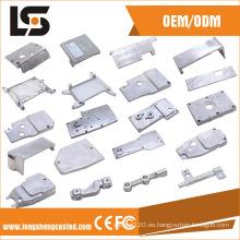 Varias piezas de aluminio de la máquina de coser para la cubierta lateral