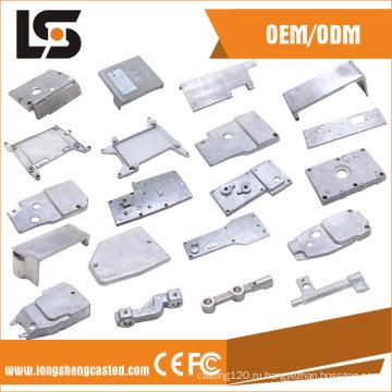 Различные алюминиевые части швейной машины для боковой крышки
