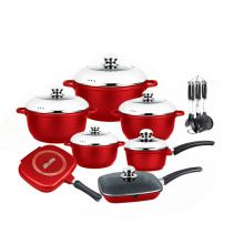 Nice Design Die Casting Non-Stick Cookware Set