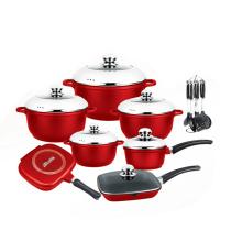 Nice Design Die Casting Non-Stick Cookware Set