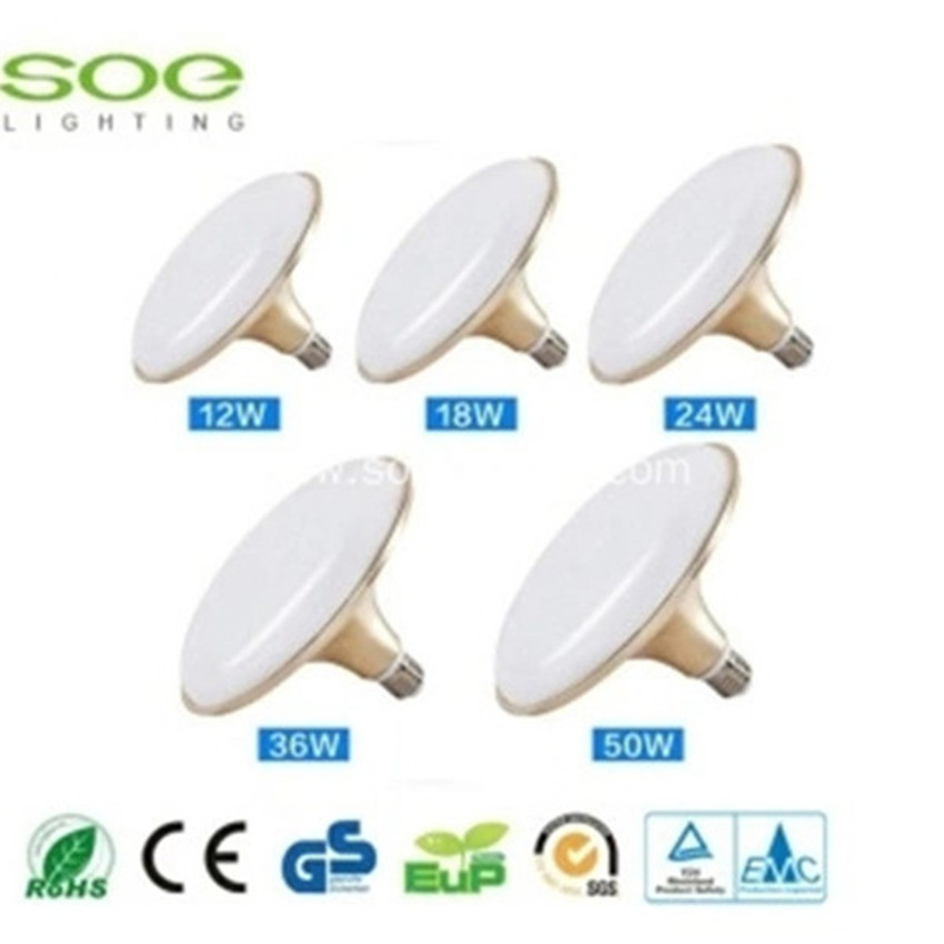 50W aluminium ufo led bulbs