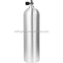 CE approval Swimming used CE/EN scuba diving tank,oxygen aluminum cylinder