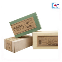 Cheap packaging box for perfume soaps Handmade wedding gift soap packaging box with custom logo printed