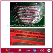 hi vis Polyester molle webbing,reflective webbing belt,knitted polyester webbing tape