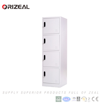 Orizeal Factory sale 4 door students school steel wardrobe lockers (OZ-OLK008)