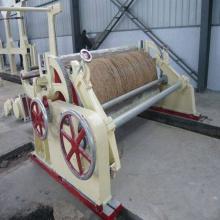 Enrouleur pneumatique horizontal d'usine de papier kraft