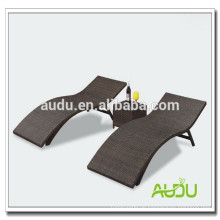 Audu Nice Woven Outdoor Aluminium Beach Lounge Stuhl