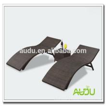 Audu Nice Woven Outdoor Aluminium Beach Lounge Chair