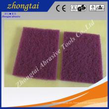 estropajo de la esponja de la limpieza abrasiva de la cocina, cojín de fregado del estropajo
