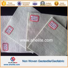 Короткое волокно иглопробивной полиэфирный нетканый геотекстиль